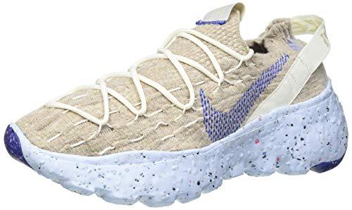 Nike Space Hippie 04, Zapatillas para Correr Hombre, Sail Astronomy Blue Fossil Chambray Blue, 40 EU