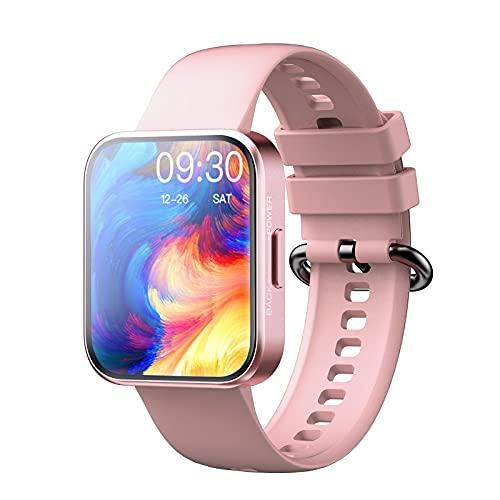 """MISIRUN Smartwatch Mujer, 1.71"""" Reloj Inteligente con Pulsómetro, Impermeable IP68 Reloj Deportivo con 20 Modos Deportivos, Podómetro, Control de Musica, Compatible con iOS Android"""