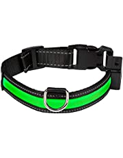 Num'axes 01830605 Collar Eyenimal con USB Verde - M