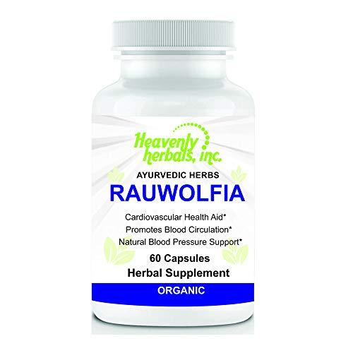 Rauwolfia Capsules, Organic Herbal …