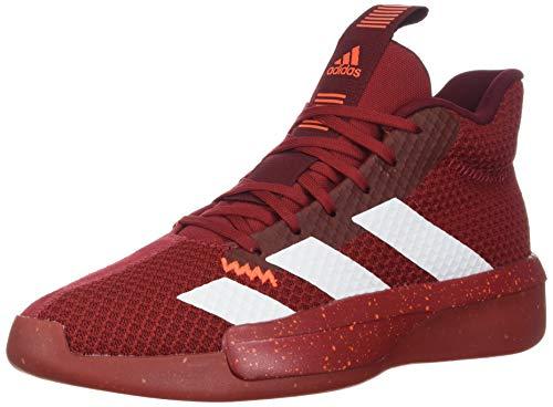 adidas Men's Pro Next 2019 Basketball Shoe, Scarlet/White/Active...