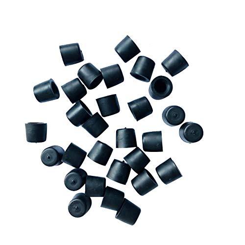 30 Universal Brake Bleeder Screw Caps,Brake Caliper Bleeder Caps, Rubber Dust Cover, Rubber Brake Bleed Nipple Cap, Grease Zerk Fitting Cap