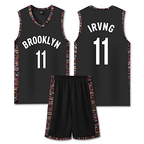 Baloncesto Boston Jerseys Conjuntos para Mans, Irving 11#, Transporte De Equipo Uniforme Malla Sin Mangas Top Shorts Pantalones Cortos, Top para Deportes Al Aire Li #2- Child L