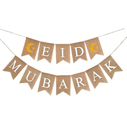 Ramadan Kareem brief Eid Al-Fitr vlag trekken bloem trekken Eid Al-Fitr Festival Decoratie moslimische feest hangende vlag