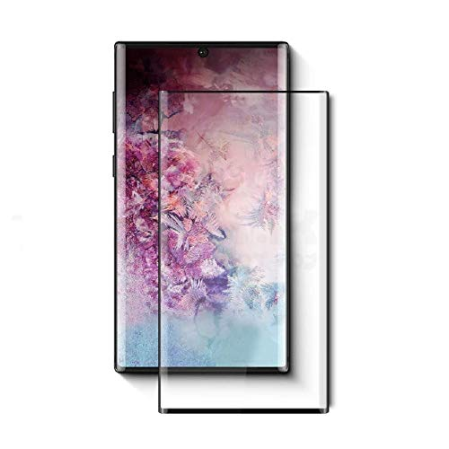 Spinzzy® 11D Tempered Glass Screen Protector Compatible for Samsung Galaxy Note 10 Plus with Edge to Edge Full Glue Tempered Glass Coverage and Easy Installation
