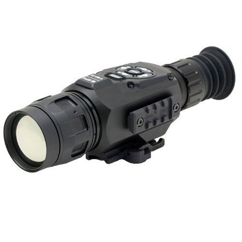 ATN ThOR-HD 640 2.5-25x, 640x480, 50 mm, Thermal Rifle Scope w/ High Res Video, WiFi, GPS, Image Stabilization, Range Finder, Ballistic Calculator and IOS and Android Apps