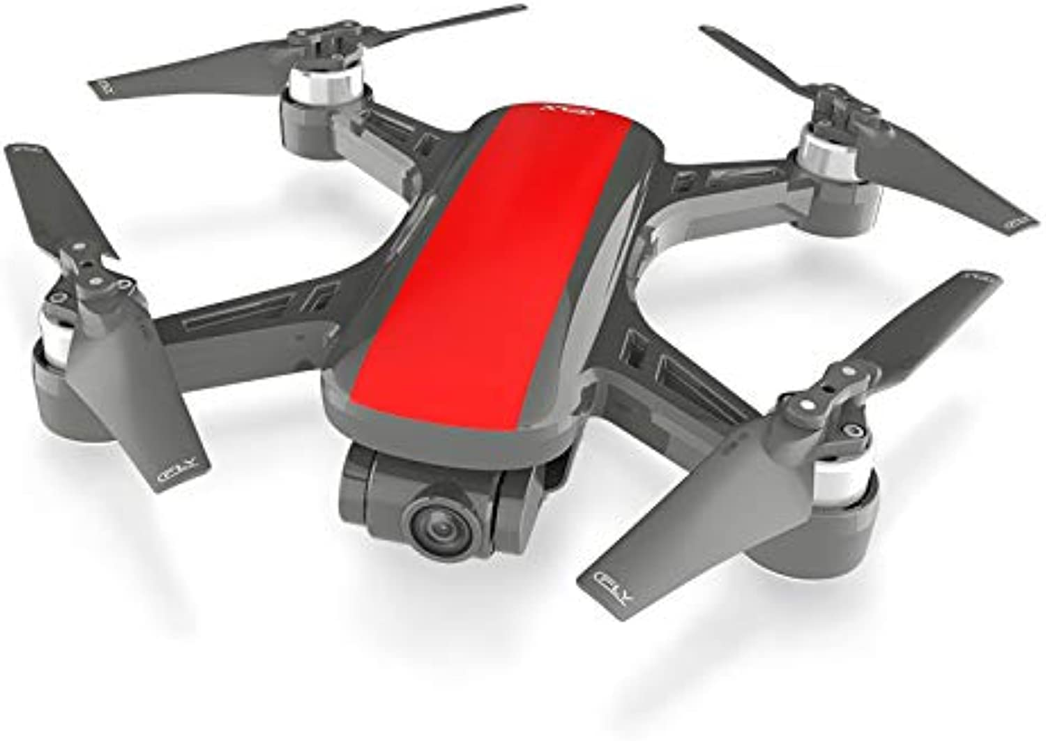 MeterMall Dream 5G Altitude Hold Drone GPS Optical Flow Positioning Follow Me RC Quadcopter One Key Return(Red)