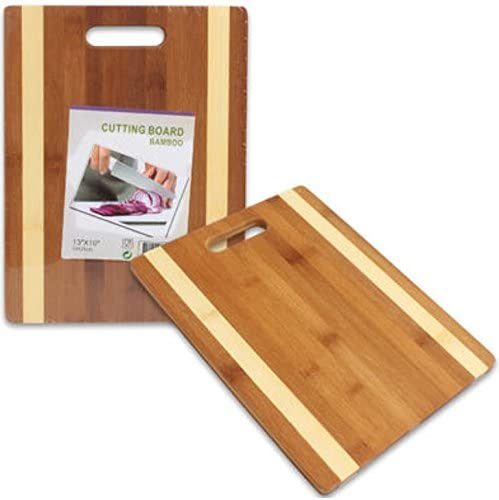 """lowest Bamboo Cutting online Board 13""""X10"""" Carving Chopping Chop high quality Slice Dice With Hand Grip outlet online sale"""