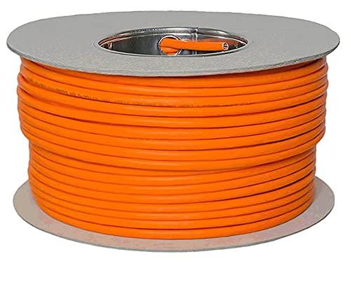 Câble Ethernet Reulin Cat 7 Bobine Sans Halogène 1000 MHz - Câble Réseau Super Rapide en Cuivre PoE/PoE+ (100 M)