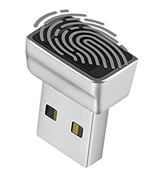 TNP Nano USB Fingerprint Reader for Windows 10 Hello - Security Key Biometric Scanner Sensor Dongle Module for Instant Acess Password-Free Login Sign-in Lock Unlock PC & Laptops