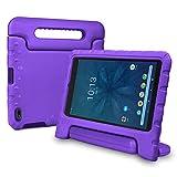 bolete Onn 8 Inch Tablet Case 2019 Release, Lightweight Protective Handle Stand Foam Kids Case for Walmart Onn Tablet 8 Inch Model ONA19TB002 - Purple