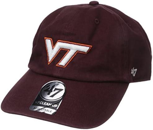 Unisex NCAA Challenger Clean Up Adjustable Hat Razor Red OTS NCAA Challenger reinigen bis Verstellbarer Hat