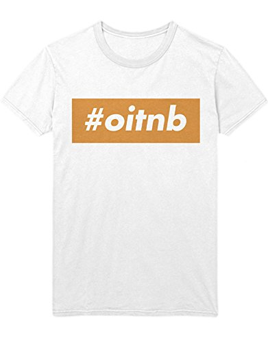 T-Shirt Orange is The New Black Hashtag OITNB C210040 Weiß M