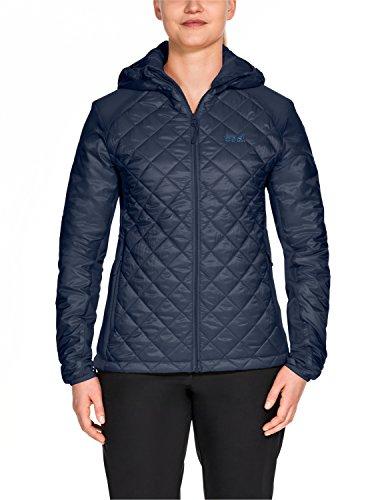 Jack Wolfskin Damen ICY Tundra Women Wetterschutzjacke, Midnight Blue, XL