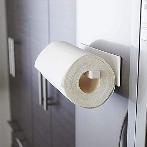 DSFSAEG Portarotolo Ristorante Porta Asciugamani Casa Hotel Forte Mensola Magnetica Cucina Materiale Acciaio, Spesso, Liscio e Forte Cuscinetto, Durevole