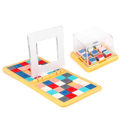 Magic Block Game, Race Board Game, 3D Cube Puzzle Blocks Double Speed ​​Game Interactief educatief speelgoed voor familie, volwassenen en kinderen vanaf 5 jaar