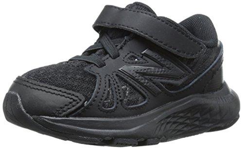 New Balance New Balance KV690I Uniform Running Shoe (Infant/Toddler), Black/Black, 17 W EU