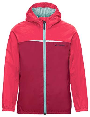 VAUDE Kinder Jacke Turaco, Regene, bright pink, 92, 409729570920