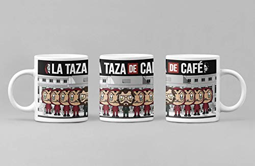 Desconocido Taza casa de Cafe Personajes. Taza de cerámica de la Serie de televisión