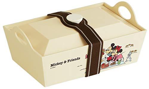 スケーター 行楽弁当箱 大型弁当箱 ミッキー&フレンズ ピクニック ディズニー 日本製 1.3L PLF13