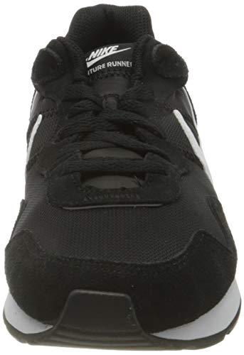 Nike Venture Runner, Zapatillas Hombre, Negro (Black/White/Black), 41 EU