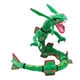 Center XY Rayquaza Dragon Plush Soft Toy Stuffed Anime Collectible Dolls 31' (Green)