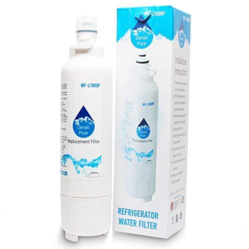 Denali Pure Paquete de 2 filtros de agua para frigorífico LG ADQ73613401 compatible con LG LT800P ADQ73613401 cartucho de filtro de agua para frigorífico LG LT800P ADQ73613401
