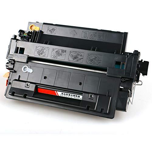 WBZD Reemplazo de Cartucho de tóner Compatible para Impresora láser HP Laserjet P3015 P3015D P3015DN P3015X, 6000 páginas, Negro