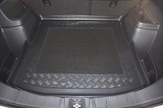 Passgenau Kofferraumwanne geeignet f/ür Mitsubishi ASX ab 2010 ideal angepasst schwarz Kofferraummatte Gurtschoner