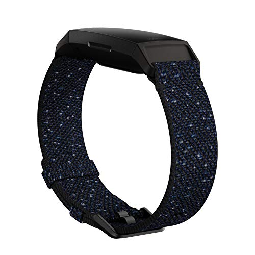 Fitbit(フィットビット) Charge 4 Woven Band Midnight L FB168WBNVBKL