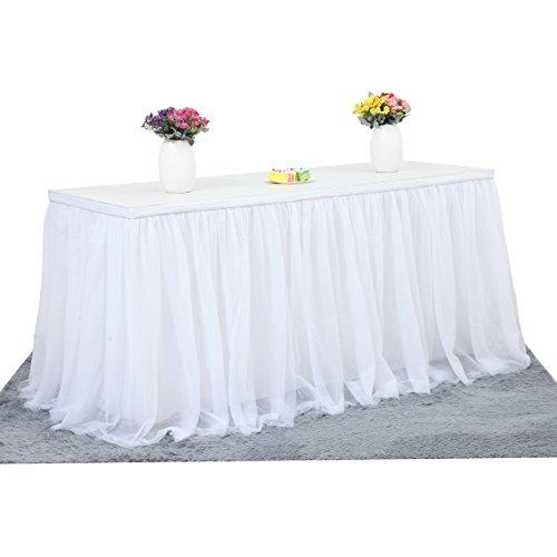 Best white tutu skirt table for 2021