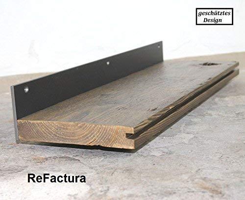Wandboard, Küchenregal, Wandregal aus historischem Holz, Bodendiele 40 cm - 200 cm