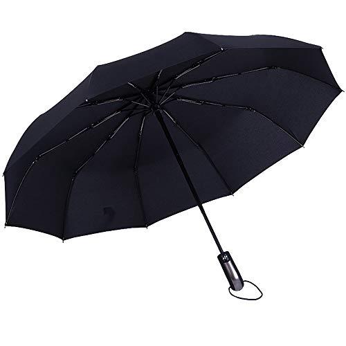 WUYANJUN Regenschirme, Reiseschirme, Öffnen und Schließen, Belüftung und Winddichte Doppelmarkisen, komfortable und vollautomatische Griffe. Leicht zu berühren, UV-beständig.