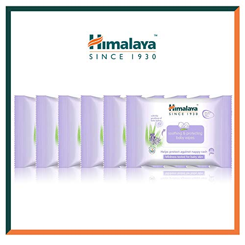 Himalaya Baby Wipes - Fragrance-free, Alcohol-free, Hypoallergenic...