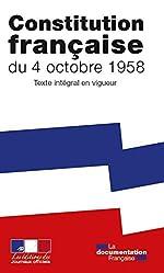 La Constitution de la Cinquième République - Texte intégral après la révision de mars 2016 de La Documentation Française