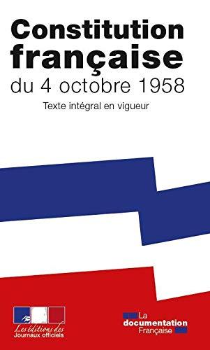 La Constitution de la Cinquième République