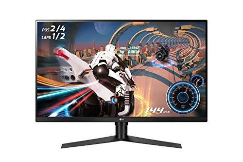 LG 32GK650F-B - Monitor Gaming QHD de 80 cm (31,5') con Panel VA (2560 x 1440 píxeles, 16:9, 1 ms con MBR, 144Hz, 350...
