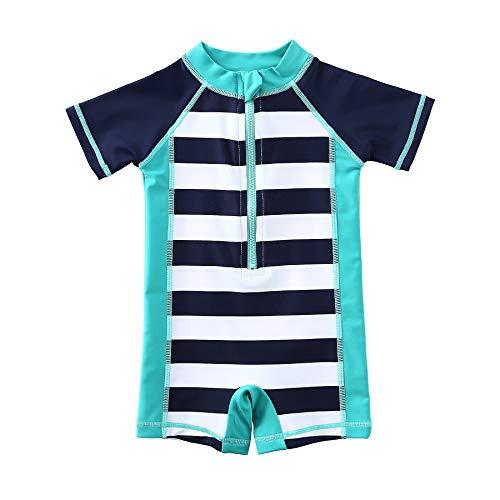 Wishere Baby Boy Girl Rash Guard Swimming Shirt UPF 30+ Baby Swimsuit
