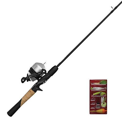Zebco 33 Spincast Reel and 2-Piece Fishing Rod Combo