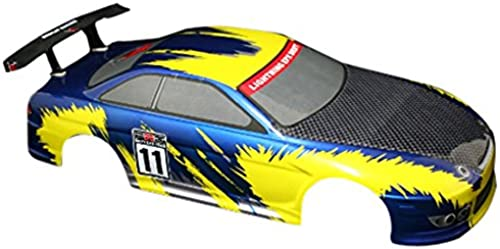 rotcat Racing Road Auto Body (1 10  ab), blau gelb