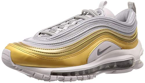 Nike Womens Air Max 97 Running Trainers Bv6113 Sneakers Shoes, White, Size 7.0