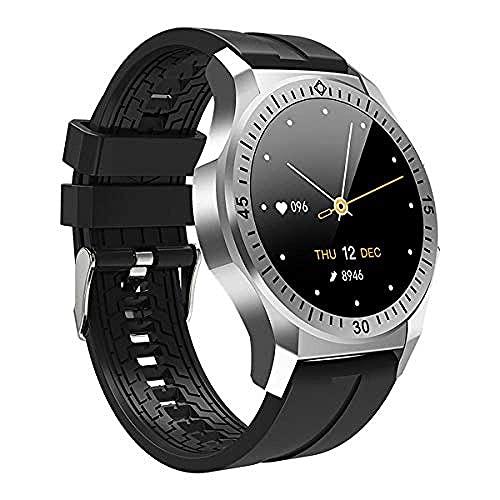 Smart Watch, Salud del recuento del Paso de la detección del sueño del Monitor del Ritmo cardíaco del Smart Watch de BluetoothFitness Tracker Sports Smartwatches para Android iOS