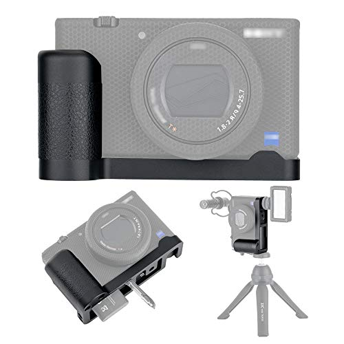 JJC Handgriff Kameragriff Metall L Platte fur Sony ZV 1 ZV1 Vlog Kamera