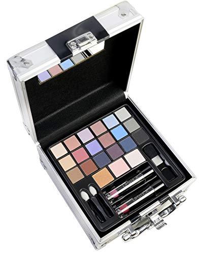 The Color Workshop TCW - Estuche de viaje para maquillaje, 27 piezas, color de viaje