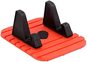 LoveQmall Phone Tablet Stand Car Mount Holder Rubber Anti-Slip Mat Support for Universal Smartphone 120 Degree Mobile Phone Bracket Random Colors
