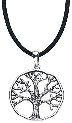 ECHT etNox Magic and Mystic Lebensbaum Frauen Halskette silberfarben 925er Sterling Silber Basics