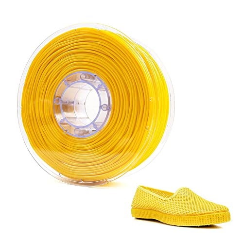 Filamento TPR para impresora 3D, 2,85 mm, materiales de impresión 3D, filamento de goma elástica, materiales para impresora 3D, Cambrian Pro (amarillo)