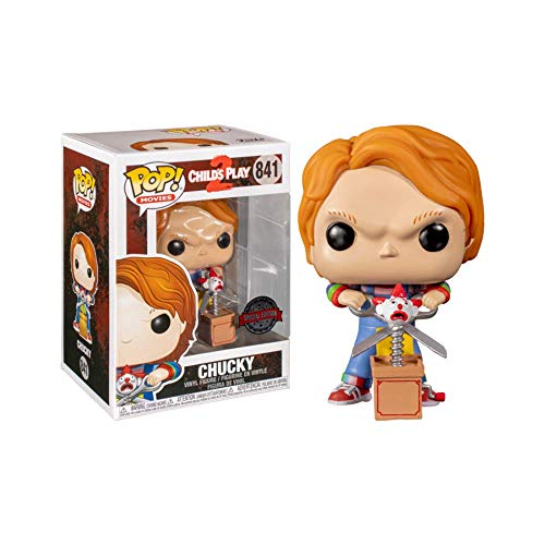 Funko Pop! 44836 Movies - Child'S Play 2 - Chucky with Buddy & Scissors Exclusive #841