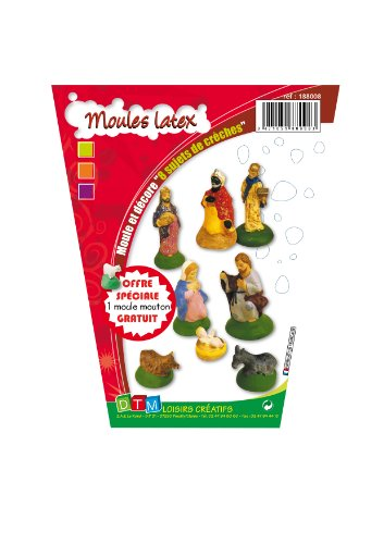 Create in a simple way the figures for your Bethlehem / birth with these molds.