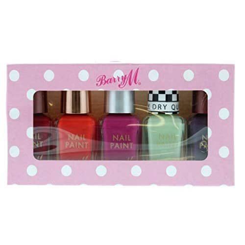 BARRY M Nail Polish 5-Piece Set, 278 g